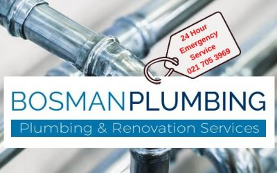 Did you know that Bosman Plumbing is available 24/7?