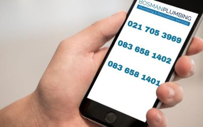 Did you know that Bosman Plumbing is contactable seven days a week twenty-four seven?