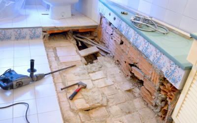 The scary world of bathroom and kitchen remodelling!